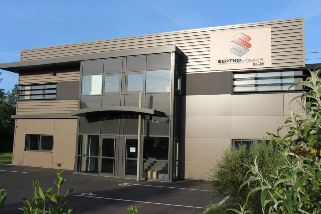 SERTHEL se juntou ao grupo ECM Technologies e se torna SERTHEL Industrie