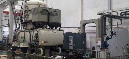 Vertical Vacuum Oil Quenching Furnace | ECM Technologies - four sous vide vertical trempe huile | ECM Technologies
